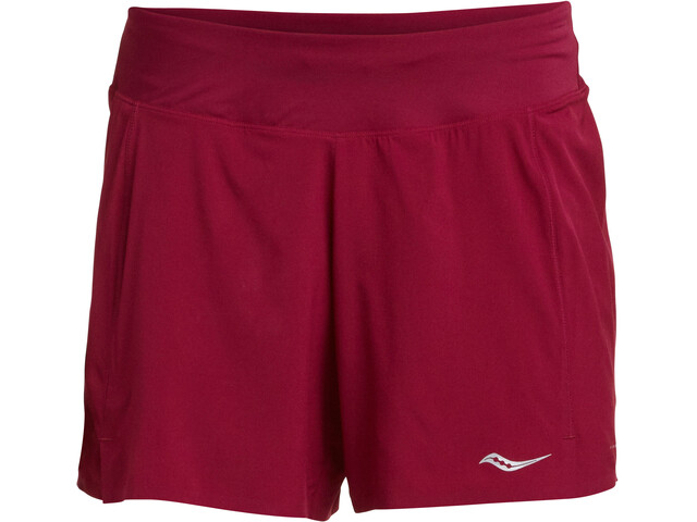 """saucony Tranquil 5"""" Shorts Dam beet red"""